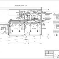 план вентиляции кафе